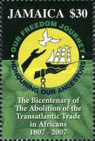 [The 200th Anniversary of the Abolition of the Transatlantic Trade in Africans, 1807-2007, type AOW]
