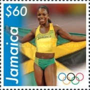 [Jamaican Medal Winners of the 2008 Olympic Games - Beijing, China, type AQK]