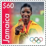 [Jamaican Medal Winners of the 2008 Olympic Games - Beijing, China, type AQM]