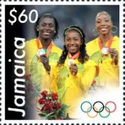 [Jamaican Medal Winners of the 2008 Olympic Games - Beijing, China, type AQN]