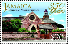 [The 350th Anniversary of the St. Andrew Parish Church, type AQT]