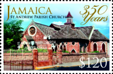 [The 350th Anniversary of the St. Andrew Parish Church, type AQV]