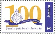 [The 100th Anniversary of the Jamaica Civil Service Association, type ARD]