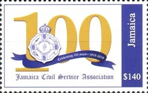 [The 100th Anniversary of the Jamaica Civil Service Association, Typ ARD2]