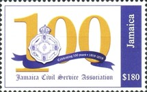 [The 100th Anniversary of the Jamaica Civil Service Association, type ARD3]