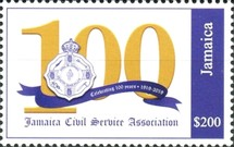 [The 100th Anniversary of the Jamaica Civil Service Association, type ARD4]