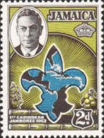 [The 1st Caribbean Boy Scout Jamboree, type DR]