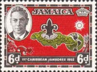 [The 1st Caribbean Boy Scout Jamboree, type DS]