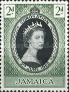[Coronation of HRM The Queen Elizabeth II, type DT]