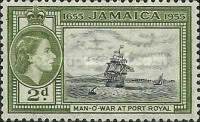 [The 300th Anniversary of Jamaica's Status as British Territory, type DV]