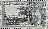 [The 300th Anniversary of Jamaica's Status as British Territory, type DW]