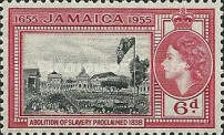 [The 300th Anniversary of Jamaica's Status as British Territory, type DY]