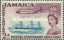[The 100th Anniversary of Jamaican Postal Service, type EO]