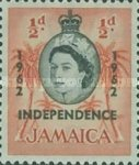 "[Issue of 1956 Overprinted ""INDEPENDENCE - 1962"" - Changed Watermark, type FO]"