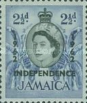 "[Issue of 1956 Overprinted ""INDEPENDENCE - 1962"" - Changed Watermark, type FQ]"