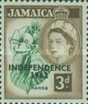 "[Issue of 1956 Overprinted ""INDEPENDENCE - 1962"" - Changed Watermark, type FR]"