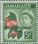 "[Issue of 1956 Overprinted ""INDEPENDENCE - 1962"" - Changed Watermark, type FS]"