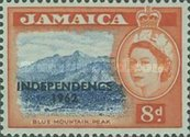 "[Issue of 1956 Overprinted ""INDEPENDENCE - 1962"" - Changed Watermark, type FT]"