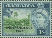 "[Issue of 1956 Overprinted ""INDEPENDENCE - 1962"" - Changed Watermark, type FU]"