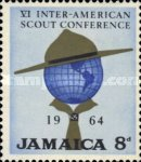 [The 6th Inter-American Scout Conference, Kingston, type GO]