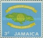 [The 50th Anniversary of Girl Guides of Jamaica, type GU]