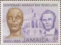 [The 100th Anniversary of the Morant Bay Rebellion against Governor John Eyre, type GY]