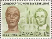 [The 100th Anniversary of the Morant Bay Rebellion against Governor John Eyre, type GZ]