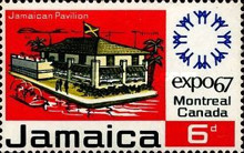 "[International Exhibition ""EXPO 67"" - Montreal, Canada, type HM]"