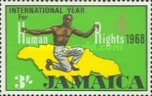 [International Year for Human Rights, type HX]