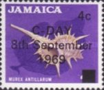 [Issue of 1964 Overprinted, type JF]