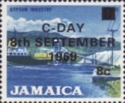 [Issue of 1964 Overprinted, type JH]