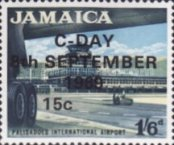 [Issue of 1964 Overprinted, type JJ]