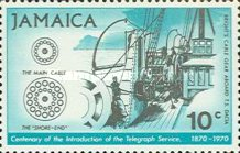 [The 100th Anniversary of Telegraph Service, type KR]