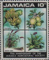 [The 75th Anniversary of Jamaica Agricultural Society, type KU]