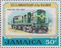 [The 125th Anniversary of the Railway, type KX]