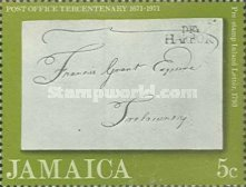 [The 300th Anniversary of the Jamaica Post Office, type LD]