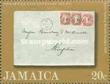 [The 300th Anniversary of the Jamaica Post Office, type LG]