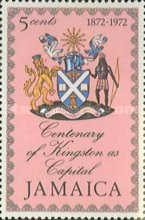 [The 100th Anniversary of Kingston as Capital of Jamaica, type MB]