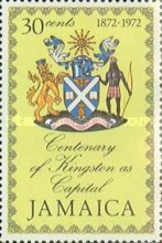 [The 100th Anniversary of Kingston as Capital of Jamaica, type MB1]