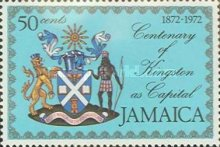 [The 100th Anniversary of Kingston as Capital of Jamaica, type MC]