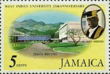 [The 25th Anniversary of University College of the West Indies, type MZ]