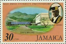[The 25th Anniversary of University College of the West Indies, type NB]