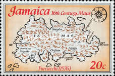 [Maps of Jamaica, type NQ]