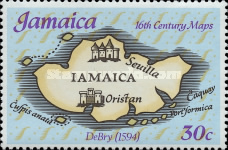 [Maps of Jamaica, type NR]