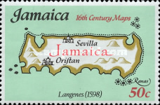 [Maps of Jamaica, type NS]