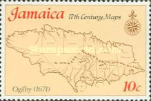 [Maps of Jamaica, type OA]