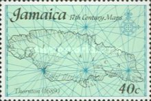 [Maps of Jamaica, type OC]