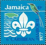 [The 6th Caribbean Jamboree, Hope Gardens, Kingston, type OH]