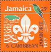 [The 6th Caribbean Jamboree, Hope Gardens, Kingston, type OH2]