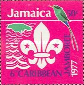 [The 6th Caribbean Jamboree, Hope Gardens, Kingston, type OH3]